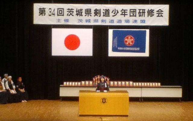 剣道体験・実戦発表の様子