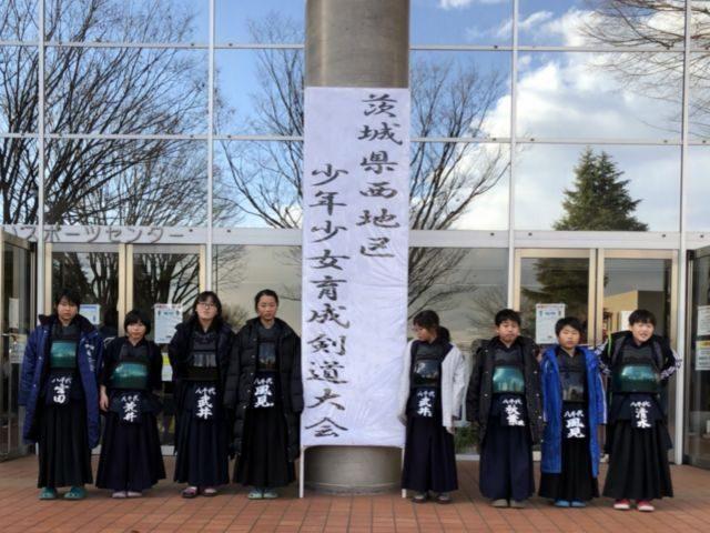 県西大会参加選手集合写真