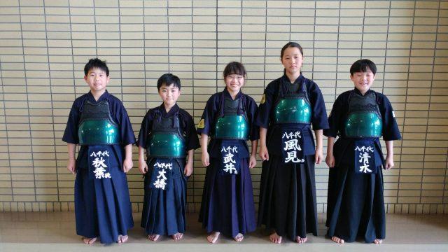 道連県大会小学生の部出場メンバー