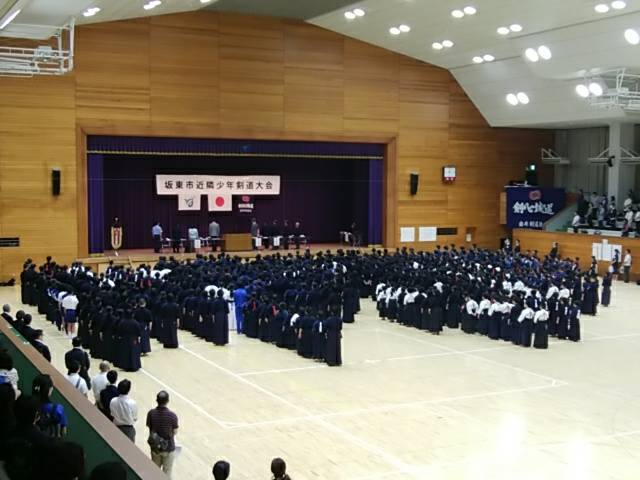 坂東大会開会式
