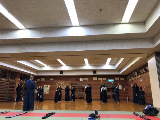 11/29の稽古風景