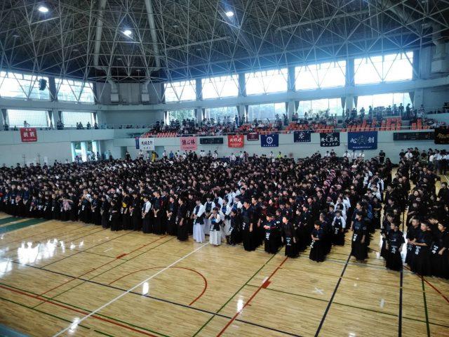 第26回青雲塾館長杯開会式