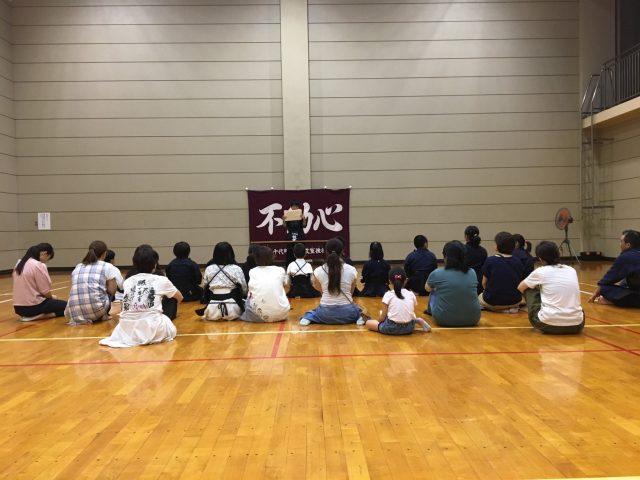 8/27部内作文発表会