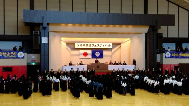 武道フェス大会開会式
