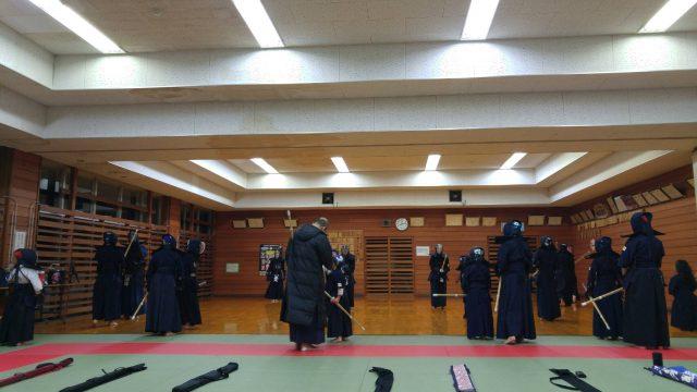 12/26稽古納めの風景