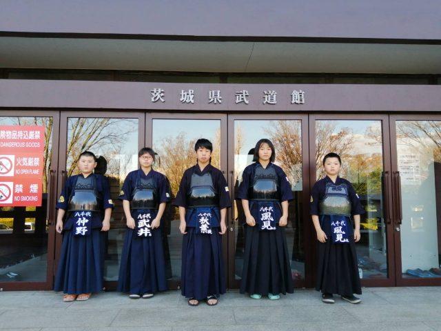 スポ少県大会2019八千代町代表(小学生団体)