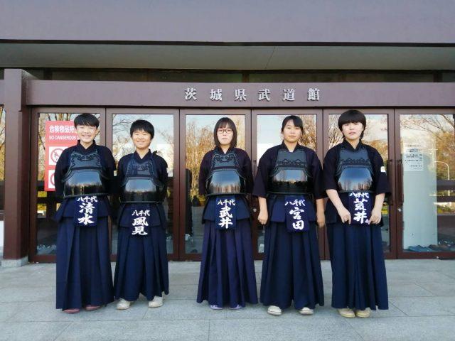 スポ少県大会2019八千代町代表(中学生個人)