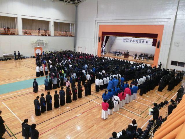 下妻村井杯2020開会式